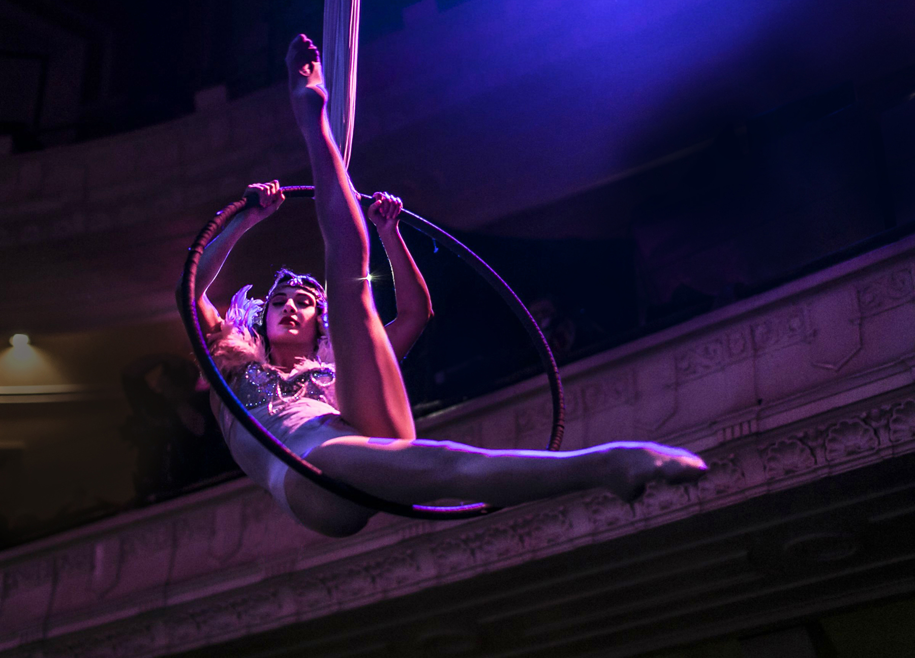 Aerialist Photo by Mark Shelby Perrry