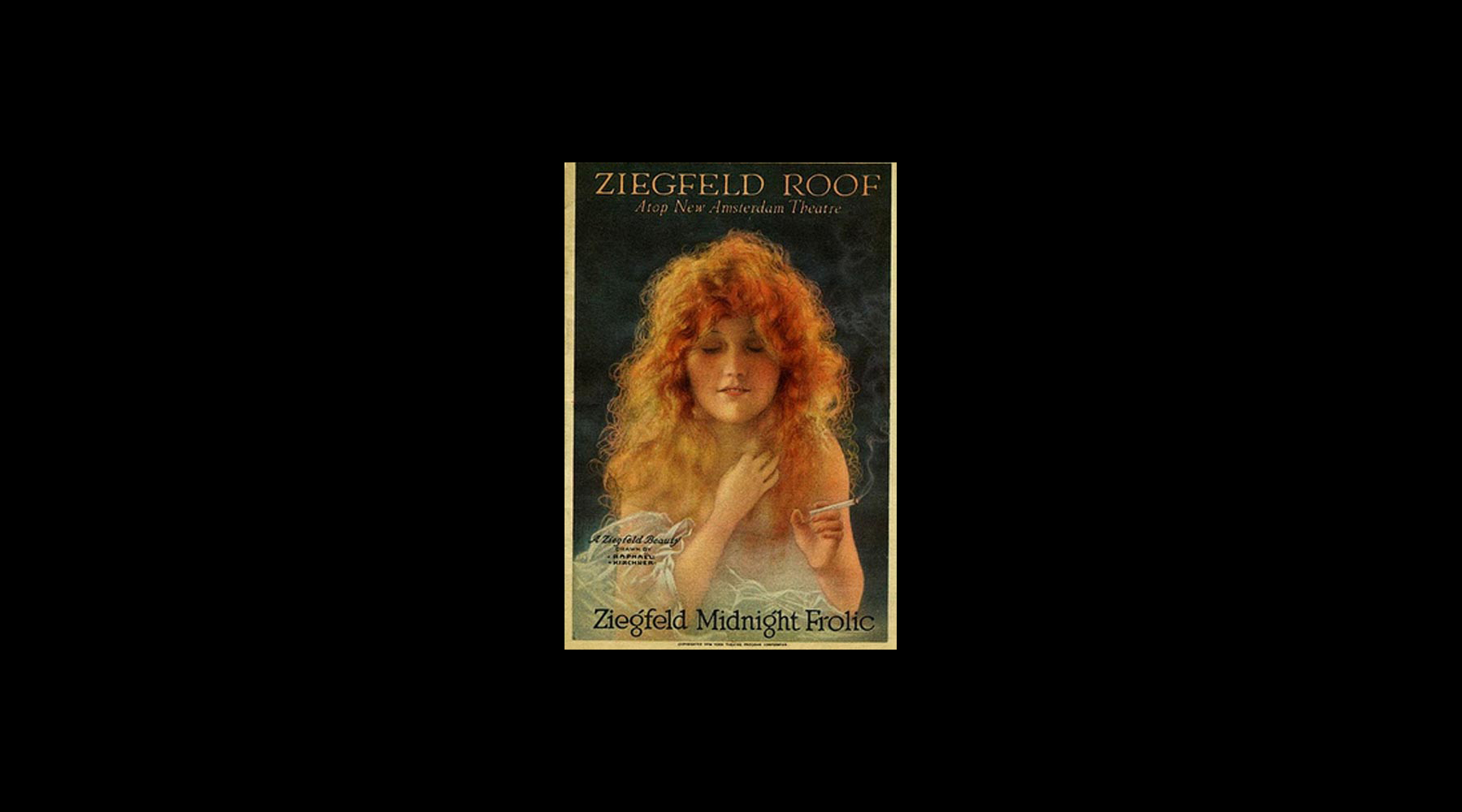 Olive joined Florenz Ziegfeld's Midnight Frolic in 1916 and began an affair with him.