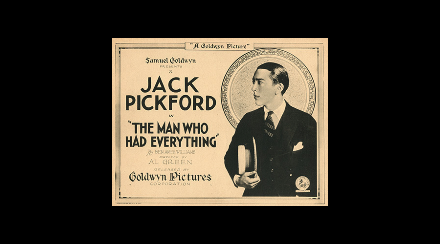 Jack Pickford, the man who had everything, even syphilis?