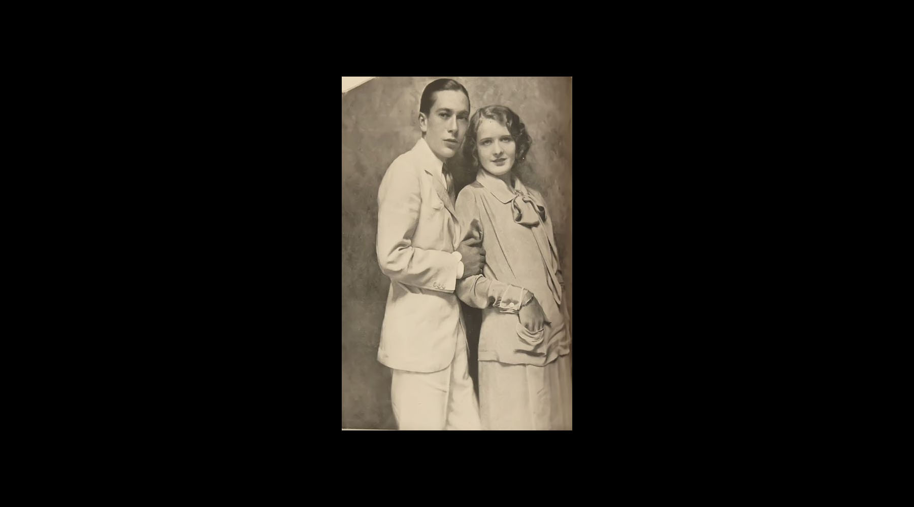 Jack seen here with Marilyn Miller, Florenz Ziegfeld's biggest star and his latest obsession. Marilyn also lost her spouse in 19